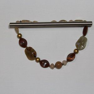 Brown Gem Necklace